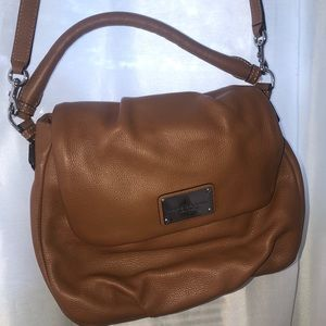 Marc Jacobs tan leather bag
